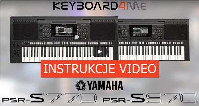 Yamaha PSR S770 S670 S950 S750 różnice – Keyboard4Me